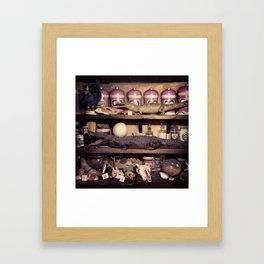 Ingredients Framed Art Print