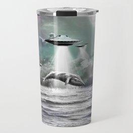 Whaling UFO Travel Mug