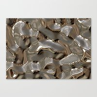 metallic Canvas Prints featuring Metallic by LoRo  Art & Pictures
