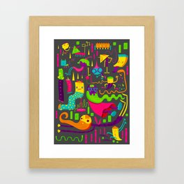 The Weirdos Framed Art Print