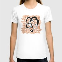 oriental T-shirts featuring oriental colors by Sandyshow
