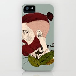 Rendered In Hipster iPhone Case
