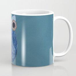 The Denim Owl #02 Coffee Mug
