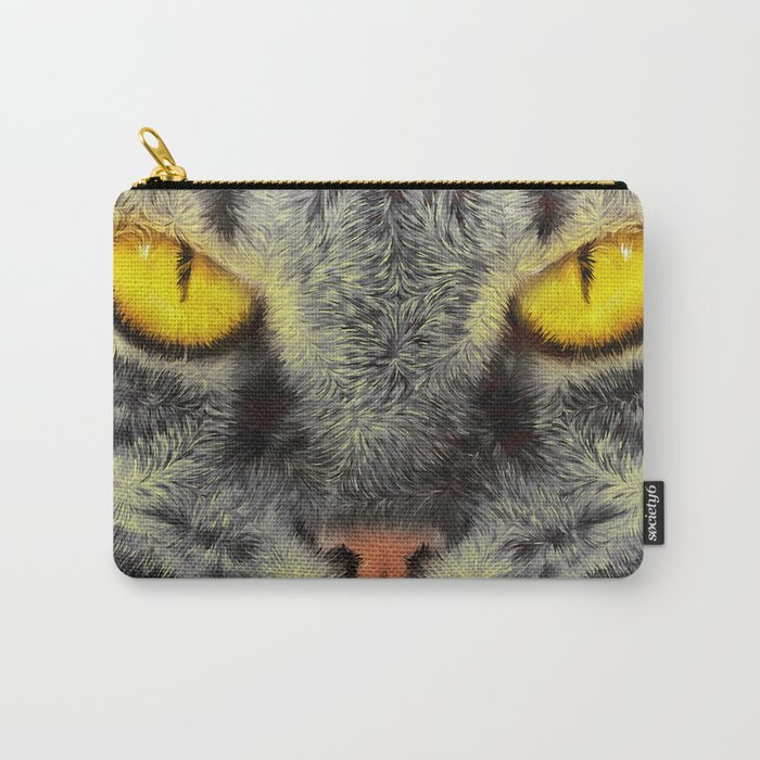 Gato Loco Carry-All Pouch