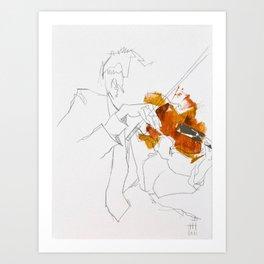 Quartet Series - 2 of 4 Art Print