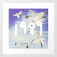 1989 Art Prints featuring 1989 by *starbucks*