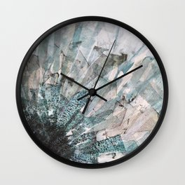 Beauty and the thief Wall Clock