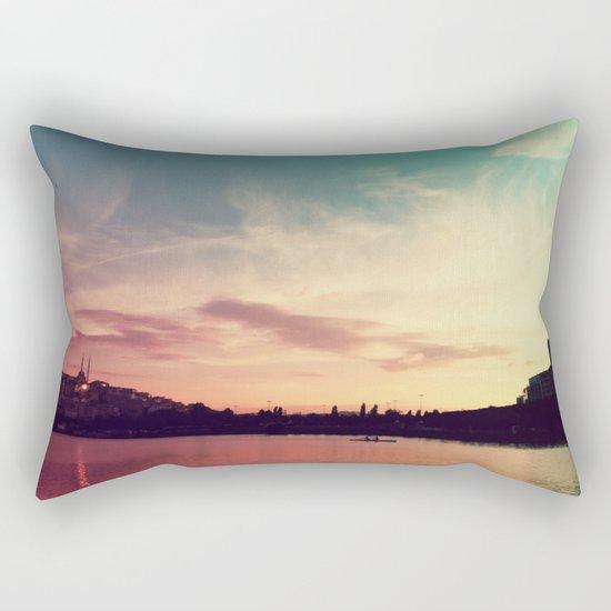 Istanbul Gradient Colors Rectangular Pillow