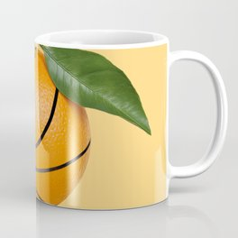 Basketball Orange Orangeball Coffee Mug