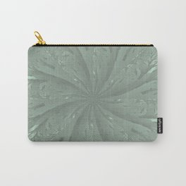 Lost in the Laurels Fractal Bloom Carry-All Pouch