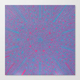 Vibrations Canvas Print