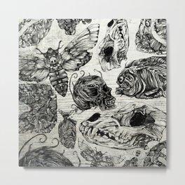 Bones and Co Metal Print
