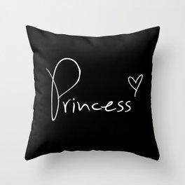 Princess Pillow Throw Pillow