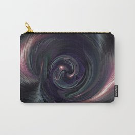 Purple Psychedelic Succulent  v.3  Vortex Carry-All Pouch