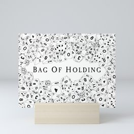 Bag Of Holding Mini Art Print