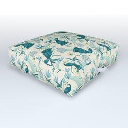 Aviary - Cream Outdoor Floor Cushion