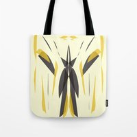 knight Tote Bags featuring Knight by lillianhibiscus