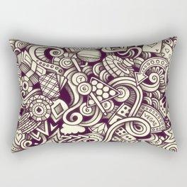 casino doodle Rectangular Pillow