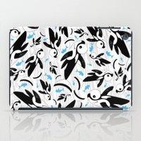 killer whale iPad Cases featuring Cute Killer Whale Pattern by markmurphycreative
