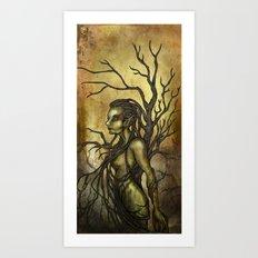 Dark Dryad Art Print