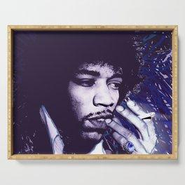 Jimi Hendrix Purple Haze Serving Tray