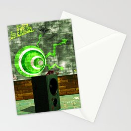 Street Art Digital Stationery Cards