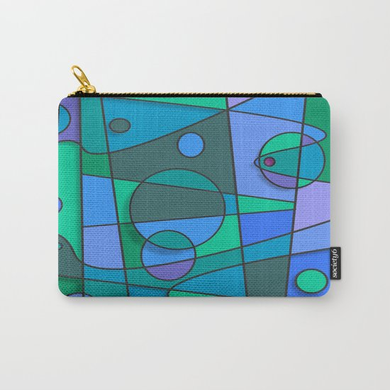 Abstract #75 Carry-All Pouch