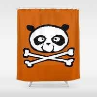logo Shower Curtains featuring Logo by Bouletcorp