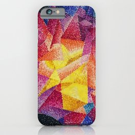 Spherical Expansion of Light No. 1, Centrifugal by Gino Severini iPhone Case