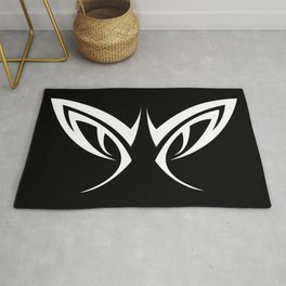 Tribal Eyes Tattoo Rug