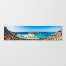 Balos Lagoon in Crete Canvas Print