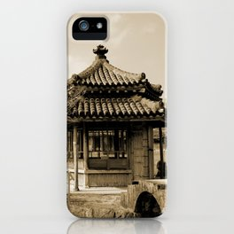 Japanese pavillion iPhone Case