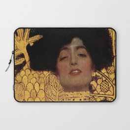 JUDITH AND THE HEAD OF HOLOFERNES - GUSTAV KLIMT Laptop Sleeve