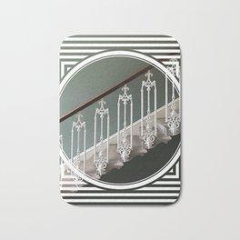 Stairway to Heaven - geometric circle Bath Mat