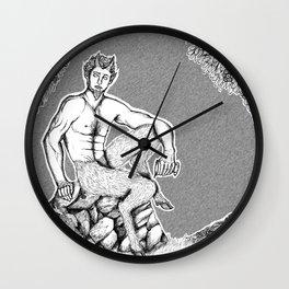 The Satyr Wall Clock