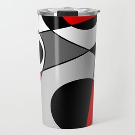 Abstract #73 Travel Mug