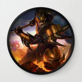 Classic Jarvan IV League Of Legends Wall Clock