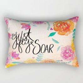 Don't Just Fly SOAR Rectangular Pillow