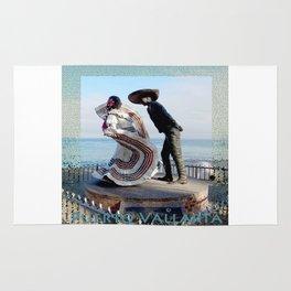 Puerto Vallarta, Mexico Sculpture by the Sea Rug