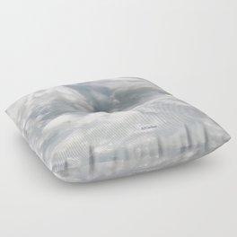 TEXTURES: Laguna Beach Sea Foam #2 Floor Pillow