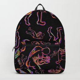 In These Hands Black Backpack