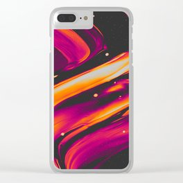 LET IT PASS Clear iPhone Case
