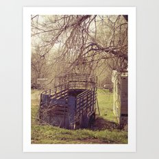 abandon trailer Art Print