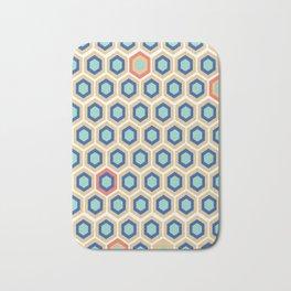 Digital Honeycomb Bath Mat