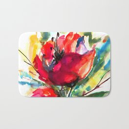 Serendipity 2 by Kathy Morton Stanion Bath Mat