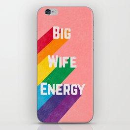 Big Wife Energy iPhone Skin