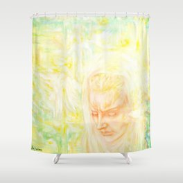 Memories, reincarnation, angels, spirits Shower Curtain