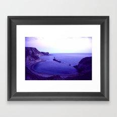 Lulworth Cove Framed Art Print