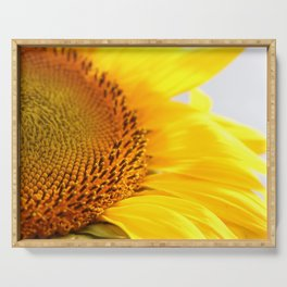 Bright Sunflower Serving Tray