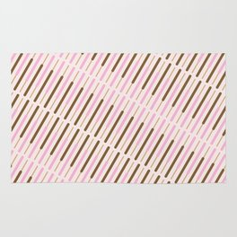 Japanese Chocolate Biscuit Sticks Rug